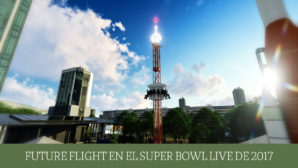 """Future Flight"" en el ""Super Bowl LIVE"" de 2017"